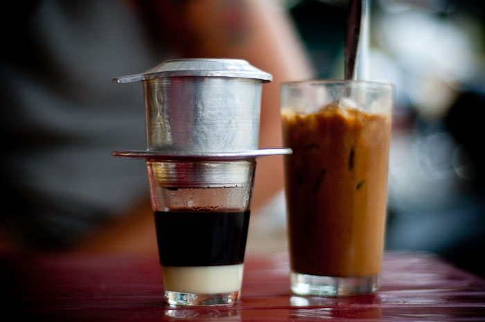 Cafe sua da - Saigon food