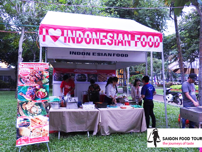 Saigon food festival 2015 - Taste of the world